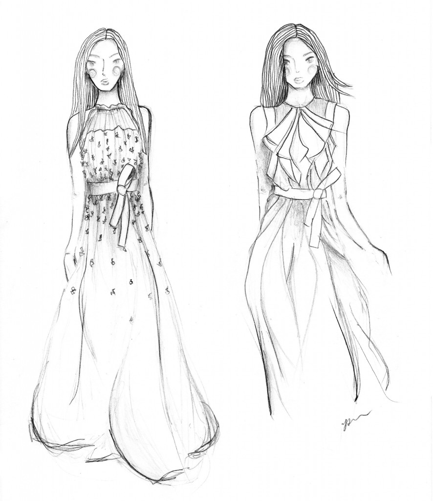 NYFW SS15: Fashion Illustrations Part I