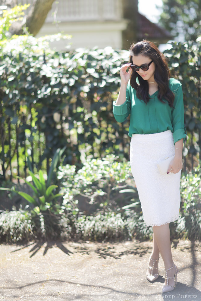 OOTD: Gardens, Lace and Spring