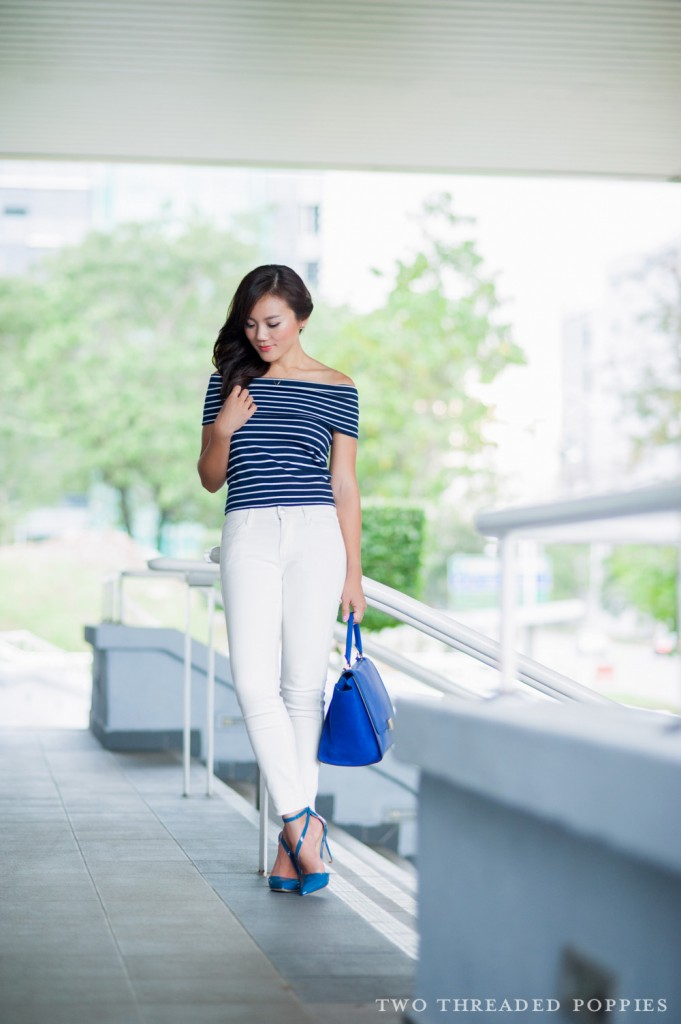 OOTD: Nautical in the City