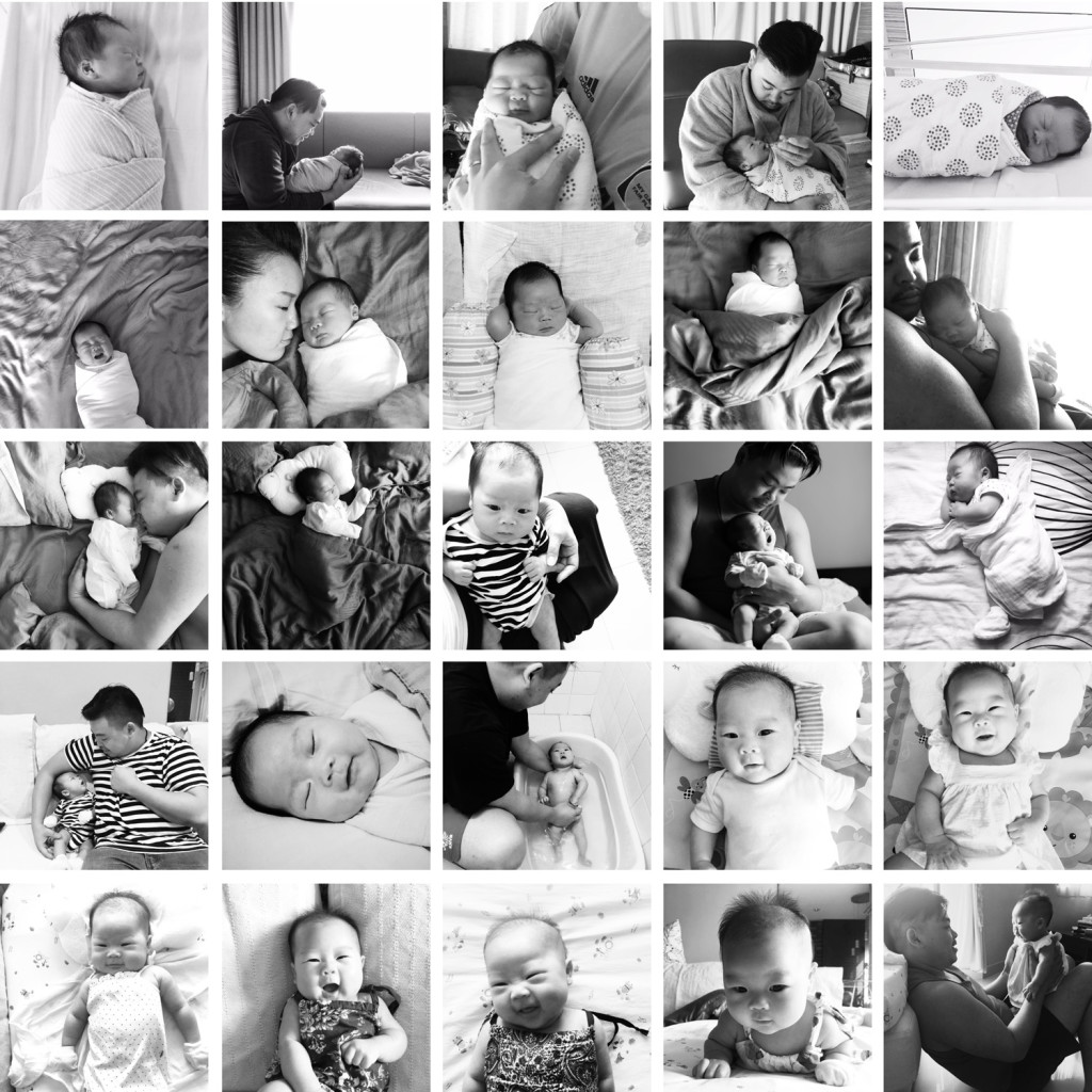 Sienna - From birth to 3 months :) Click photo above to see the full sized version :)